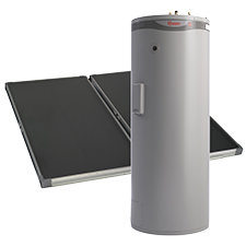 types of solar hot water split systems