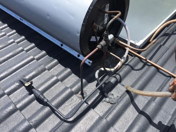 north shore solar hot water system repairs