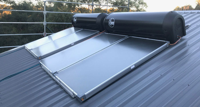 hornsby solar hot water