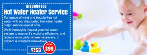 hot water system service north shore